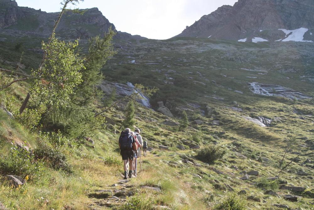 Tour del Monte Rosa natura