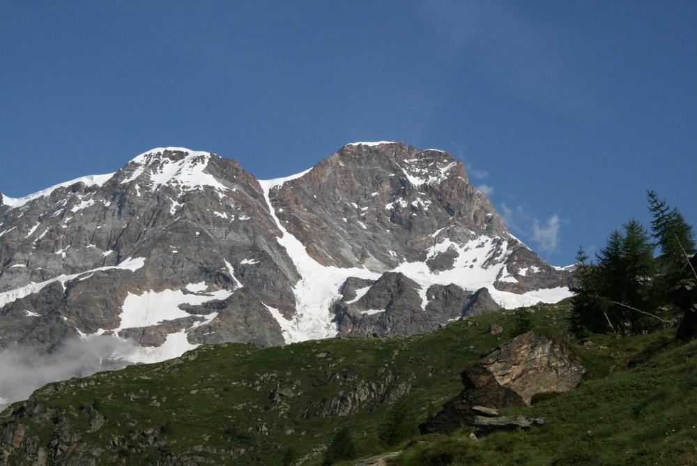 Tour del Monte Rosa panorama