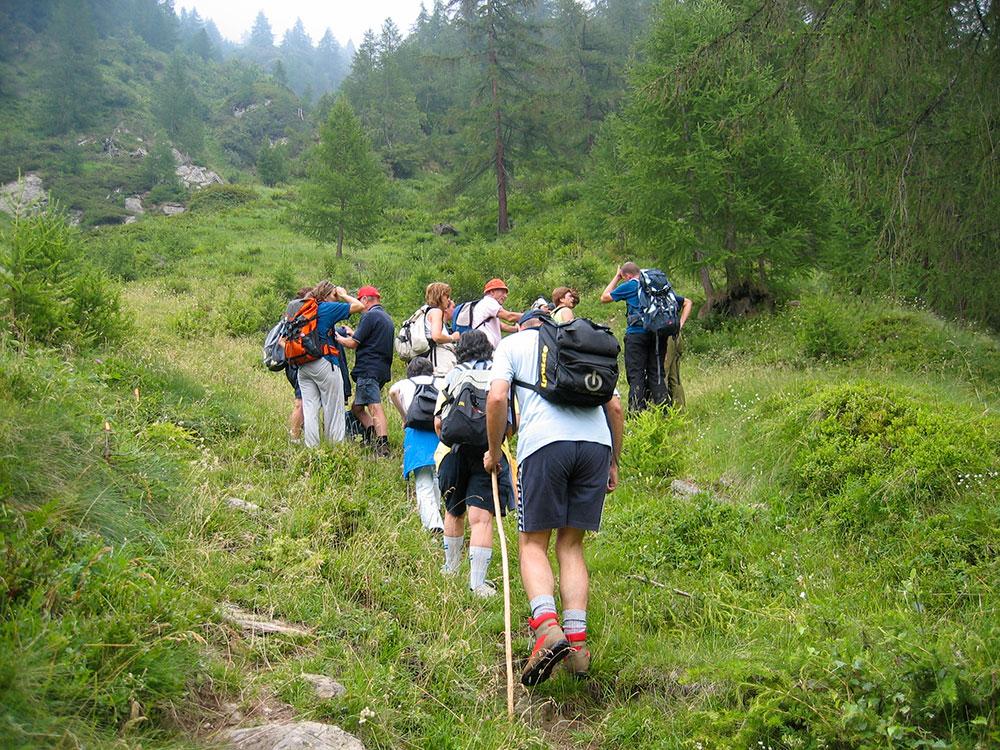 trekking preparazione